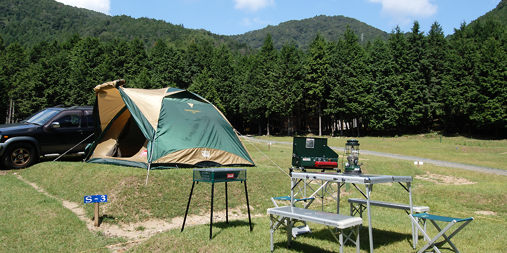 オートキャンプ場写真