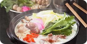 丹波豚の豆乳鍋
