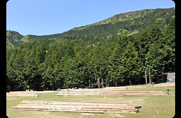 オートキャンプ場区画
